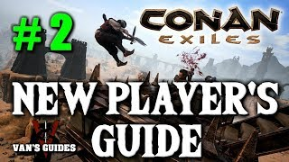 Conan Exiles Beginners Guide #2 - My Build Location