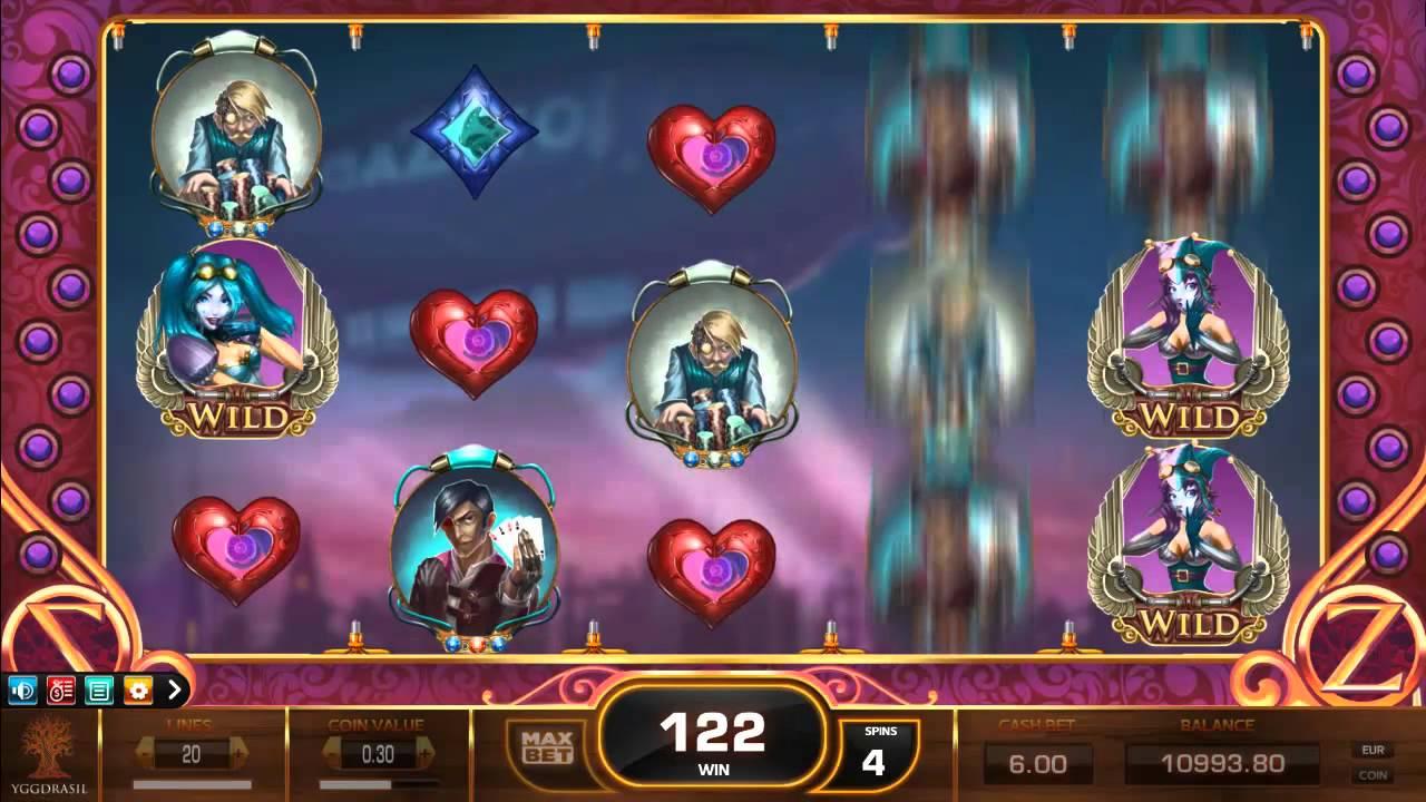 Cazino Zeppelin från Yggdrasil Gaming