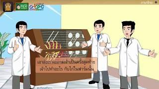 สื่อการเรียนการสอน อ่านในใจบทเรียนเรื่อง ไวรัสวายร้าย ป.4 ภาษาไทย