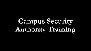 CSA Training (2014)