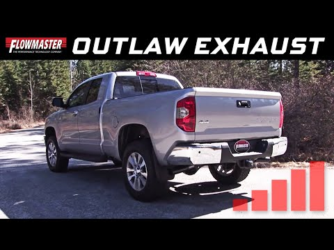 2009-19 Toyota Tundra 4.6L, 5.7L - Outlaw Cat-back Exhaust System 817692
