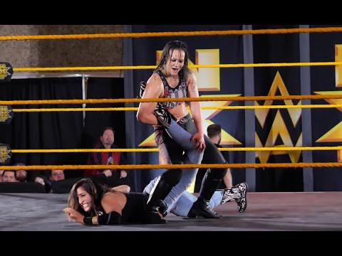 Shayna Baszler vs Reina Gonzalez for the NXT Women's Championship / 4K