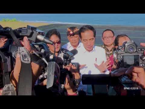 Ke Bali, Presiden Jokowi Meninjau Program Dana Desa, Badung, 17 Mei 2019