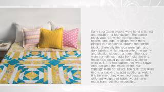 Cabin Fever: 20 Modern Log Cabin Quilts - By Natalia Bonner & Kathleen Whiting