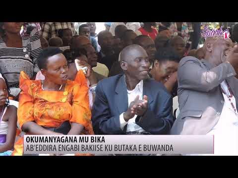 OKUMANYAGANA MU BIKA: Ab'eddira engabi bakiise ku butaka e Buwanda