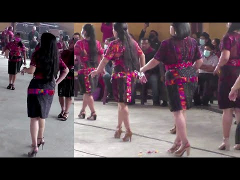 Miguel Angel Tzul - Baile  De Las Chicas  Asociacion  Femenil Santo Tomas En Chichicastenango Quiche