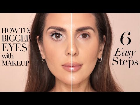 HOW TO MAKE YOUR EYES LOOK BIGGER IN 6 EASY STEPS | ALI ANDREEA