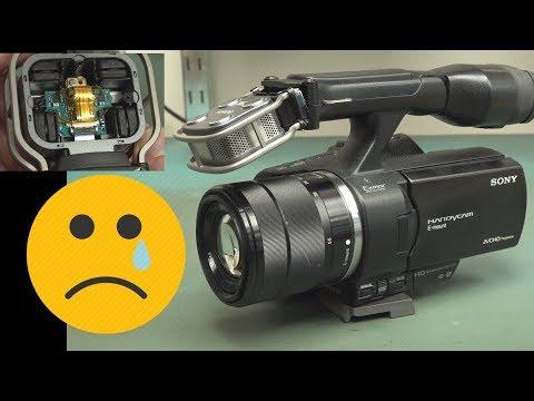 EEVblog #1206 - Repair: Sony NEX VG30 Video Camera