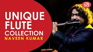 Flute Naveen Kumar shows his unique collection of flutes