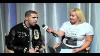 Drake Backstage Fan Interview at 106 and Park