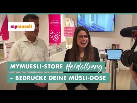 mymuesli | Bedruck Deine Müsli-Dose in Heidelberg
