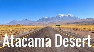 The DRIEST DESERT on Earth.... San Pedro de Atacama CHILE