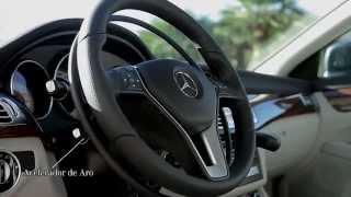 Instalación de Acelerador de aro bajo volante y Freno de leva para PMR en Mercedes-Benz CLS