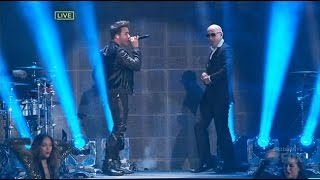 Prince Royce & Pitbull   Time Of Your Lifes Y Back It Up (New Year's Eve Revolution 2015)