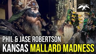KANSAS Mallard Madness With Jase Robertsons FAVORITE Duck Blind Meal
