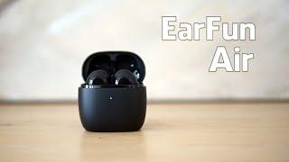 EarFun Air Bluetooth Kopfhörer im Test + Vergleich mit den Apple AirPods 2 (Deutsch)