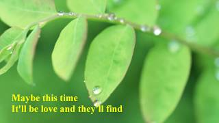 Michael Martin Murphey - Maybe This Time [w/ lyrics]