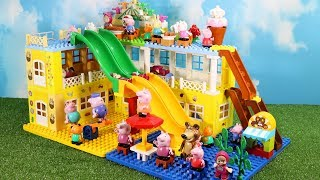 Lego Duplo Peppa Pig House Construction Set - Peppa Pig Legos Creations Toys For Kids #8