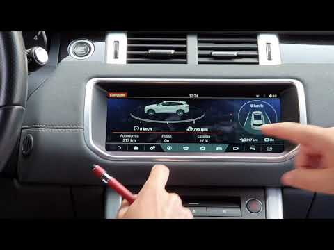 Range Rover evoque Navigatore Android
