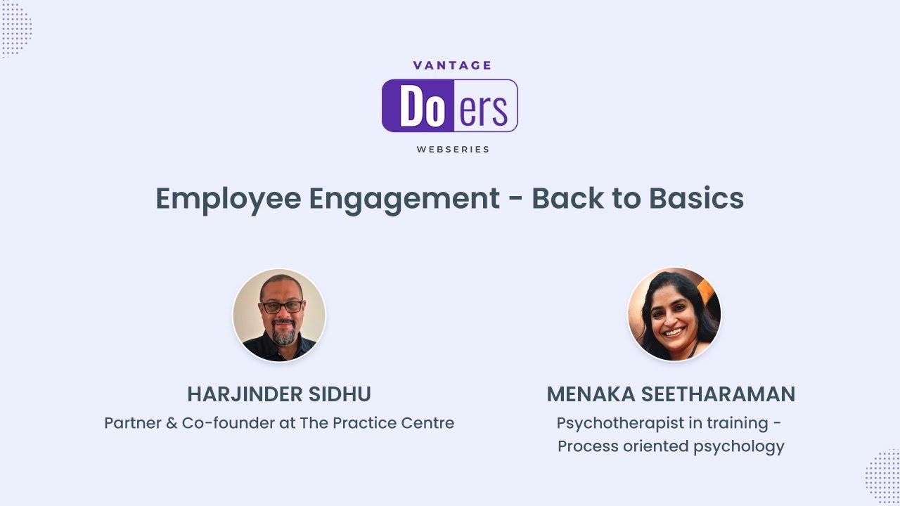 [On-demand Recording] Employee Engagement – Back to Basics