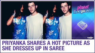 Priyanka Chopra Jonas posts a HOT picture in saree as she dresses up and admits missing home
