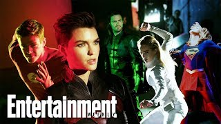 Сериалы CW, Arrowverse Reunion With Ruby Rose, Grant Gustin & More | Cover Shoot | Entertainment Weekly