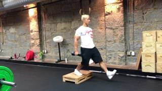 #AskKenneth 160: DB Drop Lunges