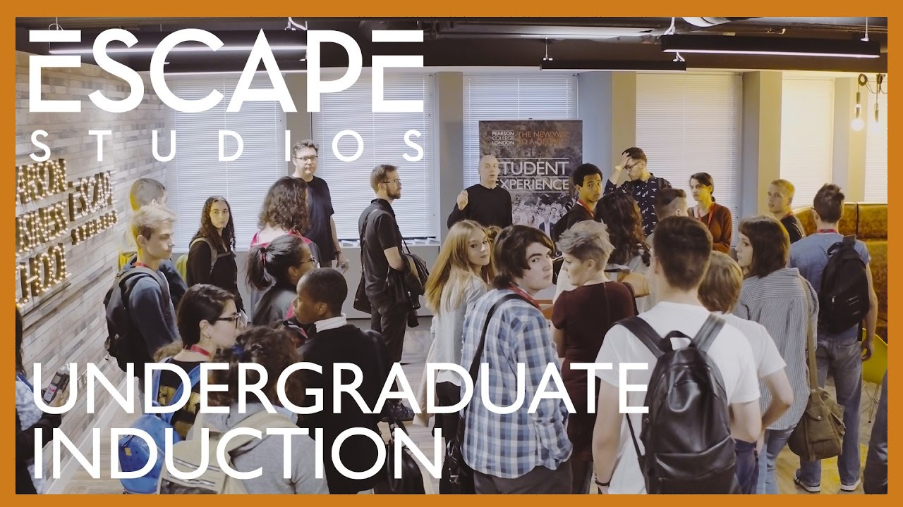 Escape Studios Undergraduate Induction 2016