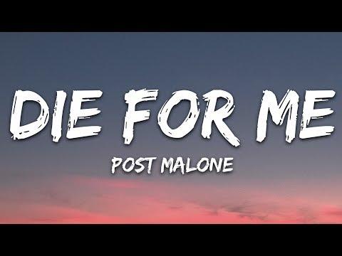 Post Malone - Die For Me (Lyrics) ft. Future, Halsey
