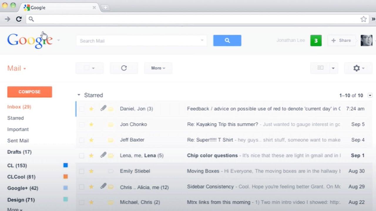Google Scraps Black Navigation Bar