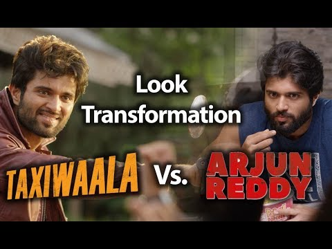 Vijay Deverakonda Transform From Arjun Reddy to Taxiwaala