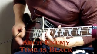 Arch Enemy - Time is Black - cover