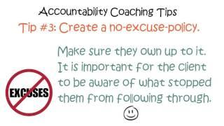 Accountability Coaching TIps