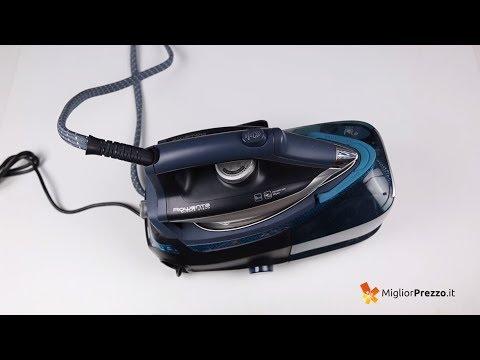 Ferro da stiro con caldaia Rowenta DG8975 Video Recensione