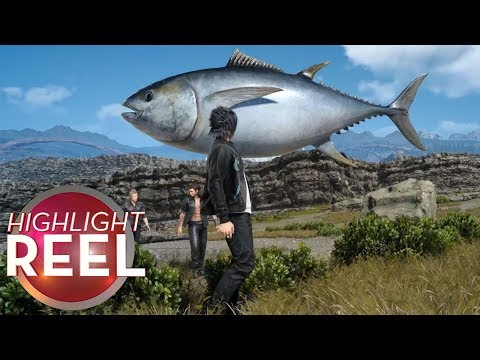 Final Fantasy Dropship Seems Fishy