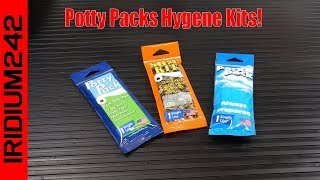 Potty Packs Hygene Kits!