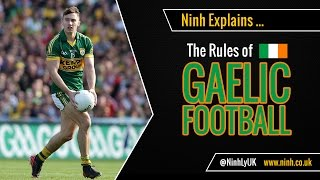 The Rules of Gaelic Football - EXPLAINED!