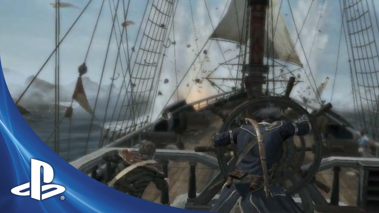 As Batalhas Navais de Assassin's Creed III e um Novo Trailer de ACIII: Liberation