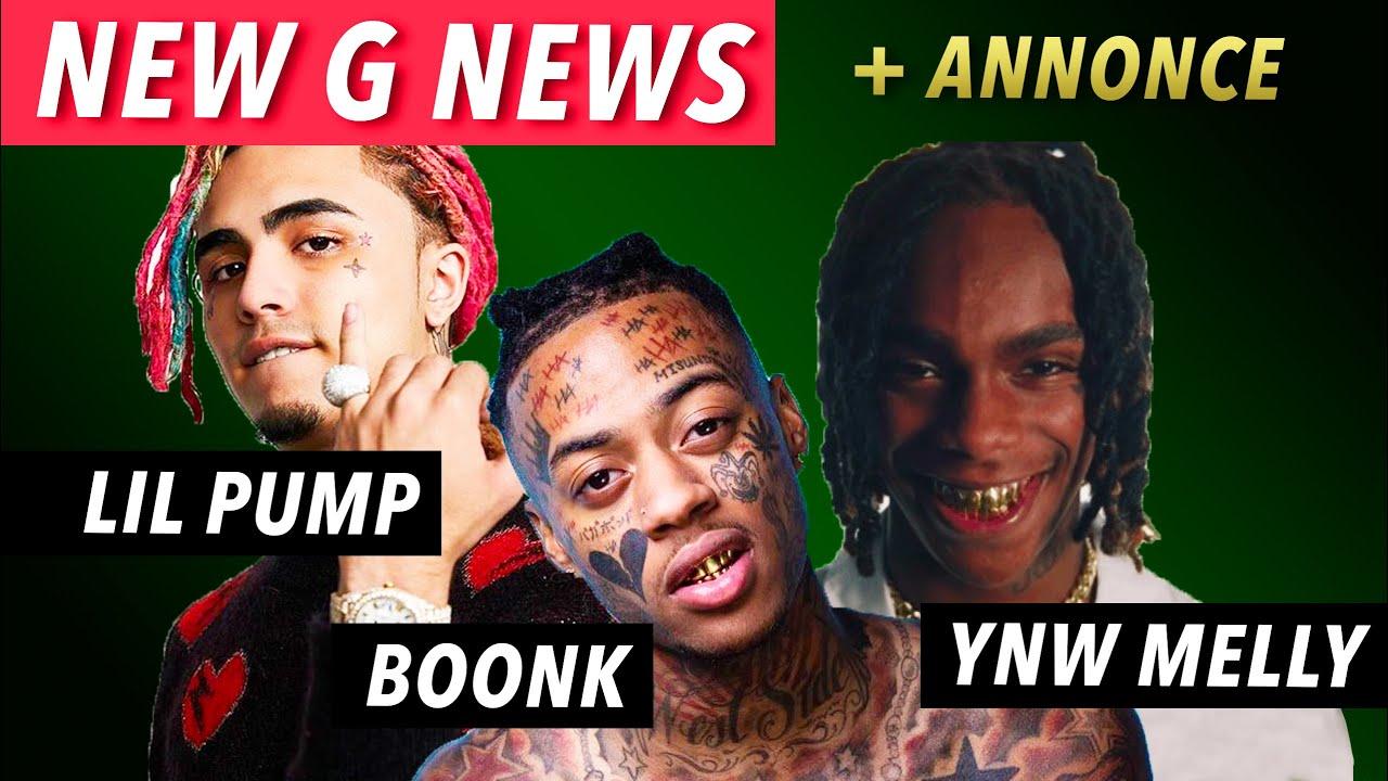 Lil Pump en pleine chute, YNW Melly bientôt libre, & Boonk a totalement changé - New G News #1