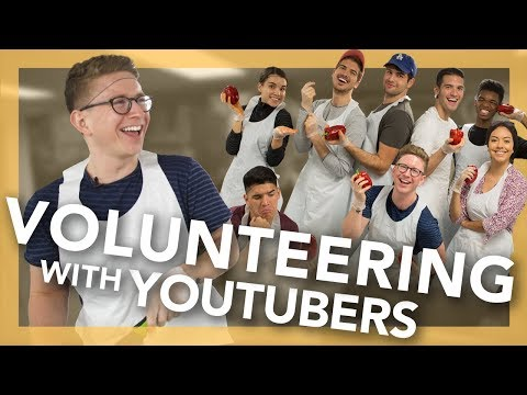 Volunteering with YouTubers