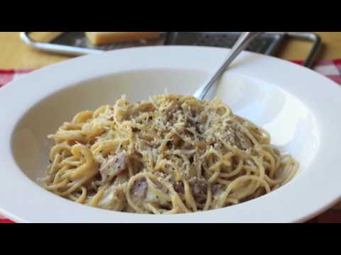 Food Wishes Recipes - Spaghetti alla Carbonara Recipe - Pasta Carbonara
