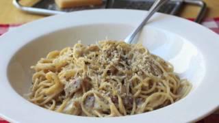 Food Wishes Recipes – Spaghetti alla Carbonara Recipe – Pasta Carbonara