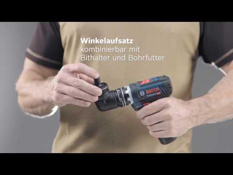 Bosch GSR12V15FCN 12v FlexiClick Cordless Drill Driver Bare Unit 06019F6002