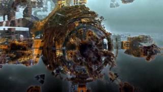 Trip through a 3D hybrid fractal box II