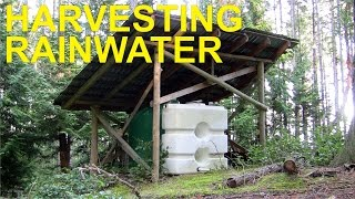 Rainwater Harvesting Off Grid