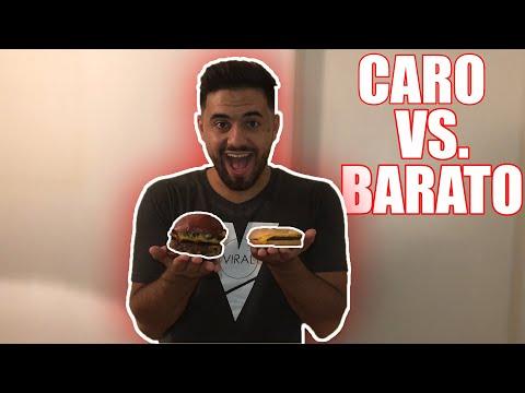 Comida BARATA vs CARA ¿Merece LA PENA?