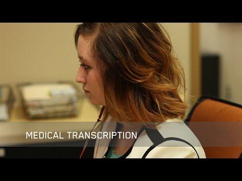 Start a career with NAIT's Medical Transcription program - YouTube