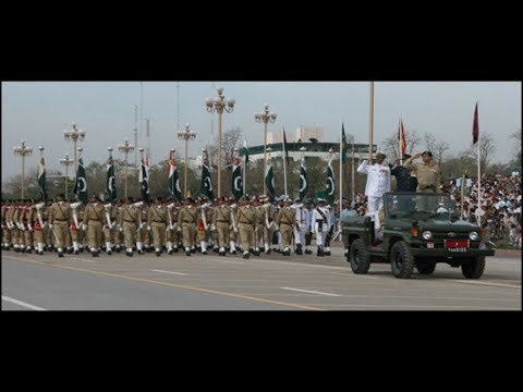 Pakistan's Best Army Brass Band playing patriotic tunes on defence day