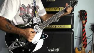 AC/DC Overdose Malcolm Young's Part on my Gretsch G6128t-1962 through Marshall 1959SLP