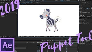 (2019) New Puppet Tools in Adobe After Effects